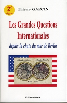 """Les grandes questions internationales"", par Thierry Garcin"