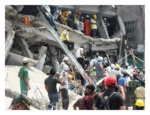 Effondrement du Rana Plaza au Bangladesh, la réaction des firmes multinationales