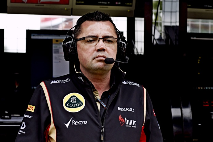 Eric Boullier, patron du Lotus F1 Team