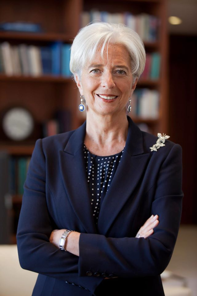 Facebook officiel Christine Lagarde