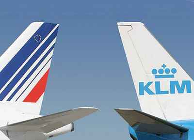 Le trafic passagers d'Air France-KLM quasi stable en 2014