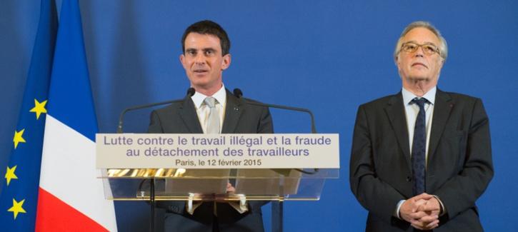 Manuel Valls déclare la guerre au travail illégal