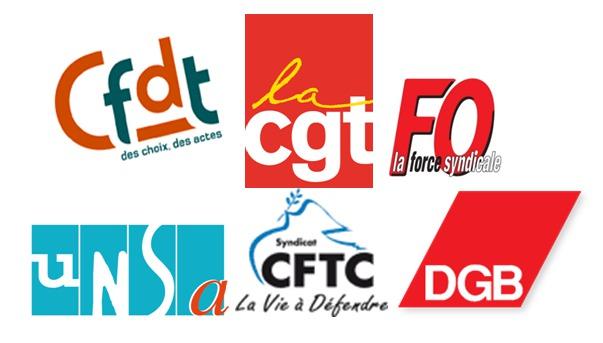 Des syndicats manifestent contre l'austérité