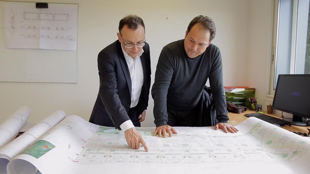 Renaud Sassi (à gauche), président de Logelis (Photo: Logelis)