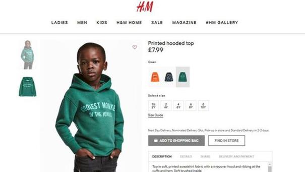 H&M enflamme les réseaux sociaux avec une photo jugée raciste