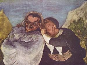 Cripsin et Scapin - Honoré Daumier (1858 - 1860)