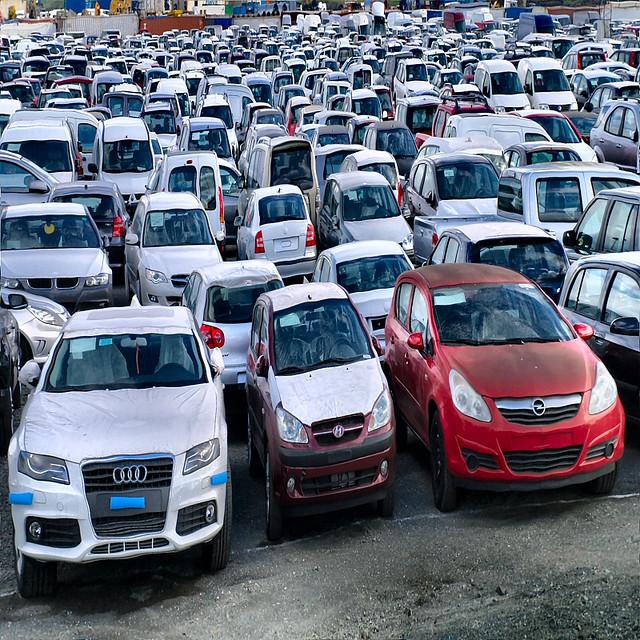 Embellie de l'industrie automobile en février