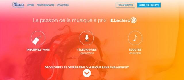 « Réglo musique »,  le streaming musical de Leclerc