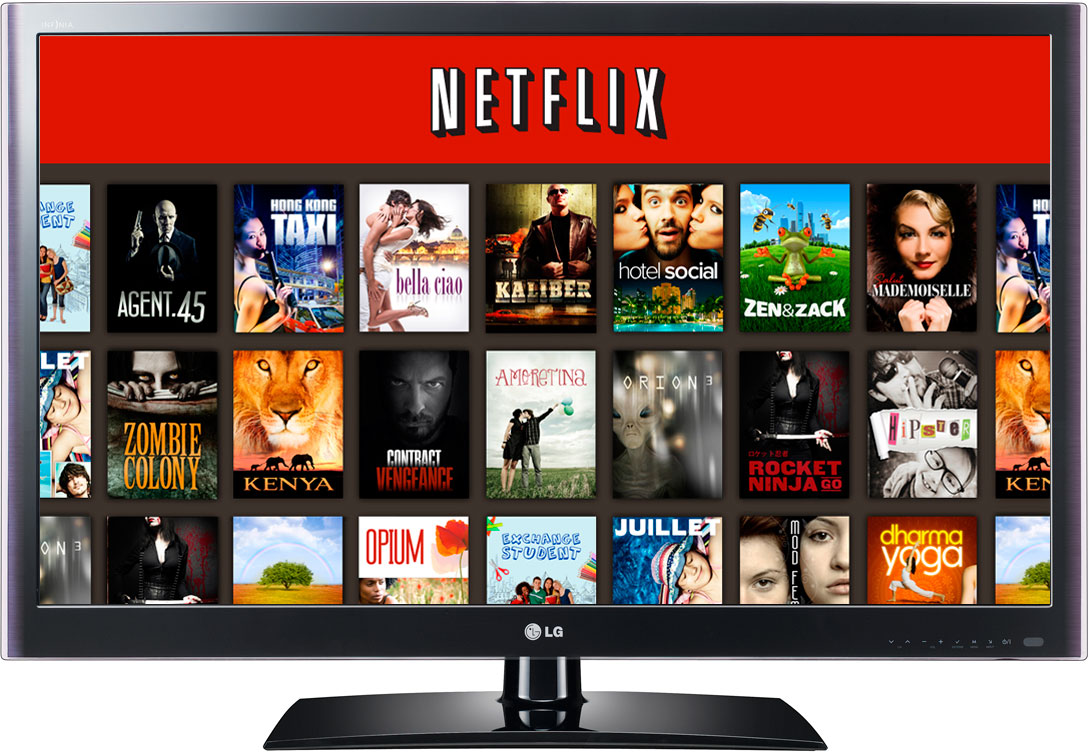 Publicité Netflix pour la Nouvelle Zélande