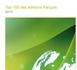 Top 100 des Editeurs français – Edition 2010 : L'industrie du logiciel en France résiste bien, mais doit impérativement s'adapter à la croissance de demain